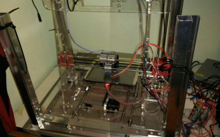 modifica struttura prusa i3 /con tubolari in alluminio/